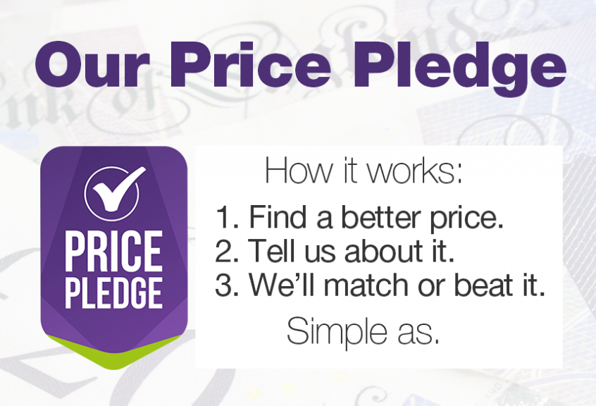 Our Price Pledge