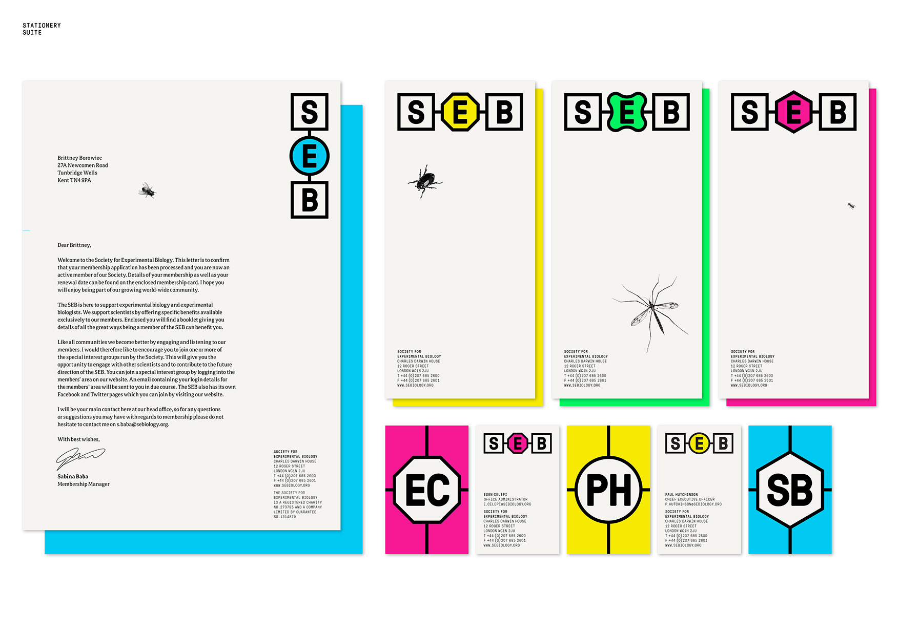 Society for Experimental Biology Identity by Purpose
