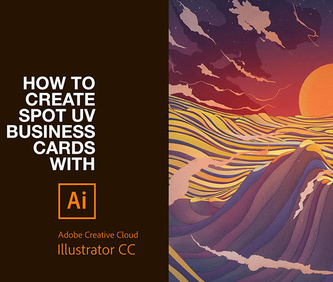 How to set up spot uv artwork in illustrator