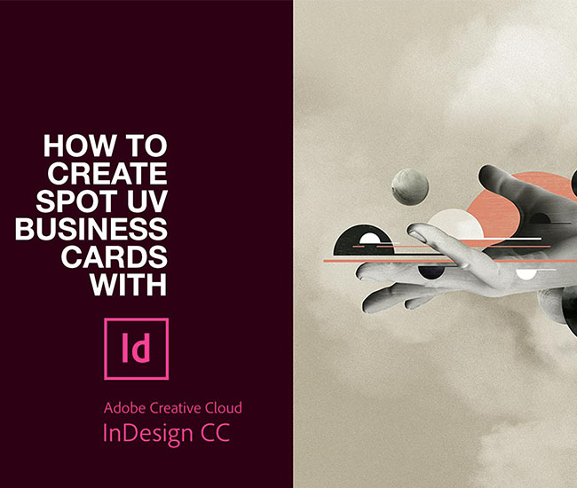 How to set up spot uv in InDesign