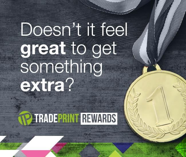 Tradeprint Rewards Medal