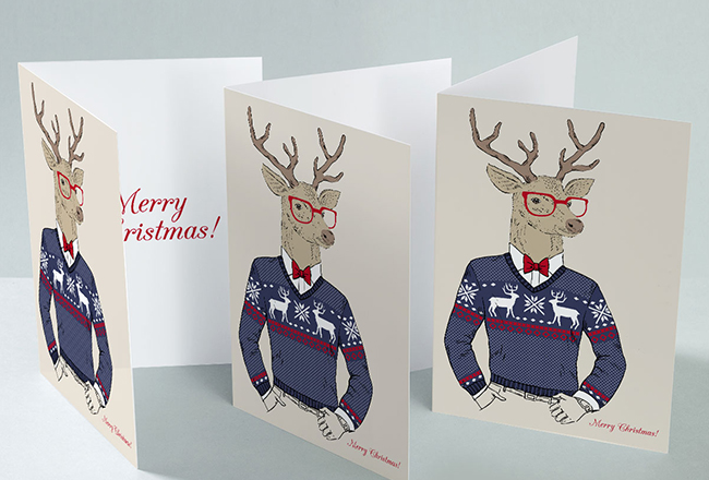 Festive Greeting Card