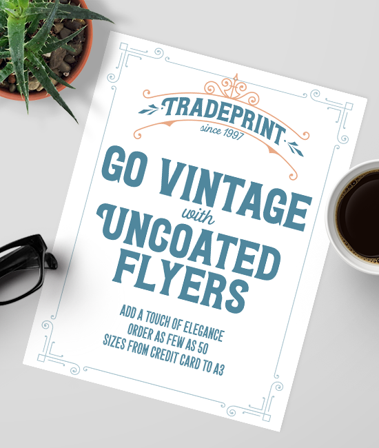 Uncoated Flyer