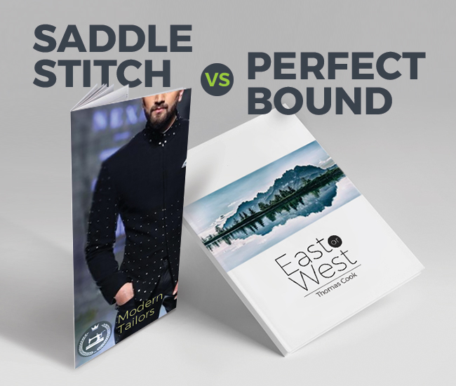 Perfect Bound vs Saddle Stitched