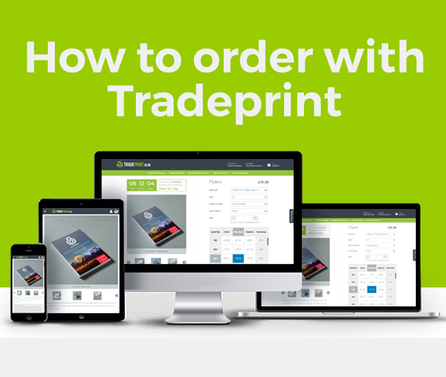 How to Order with Tradeprint