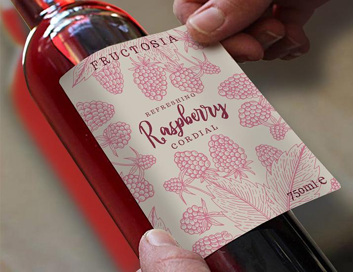 Packaging Wine Label