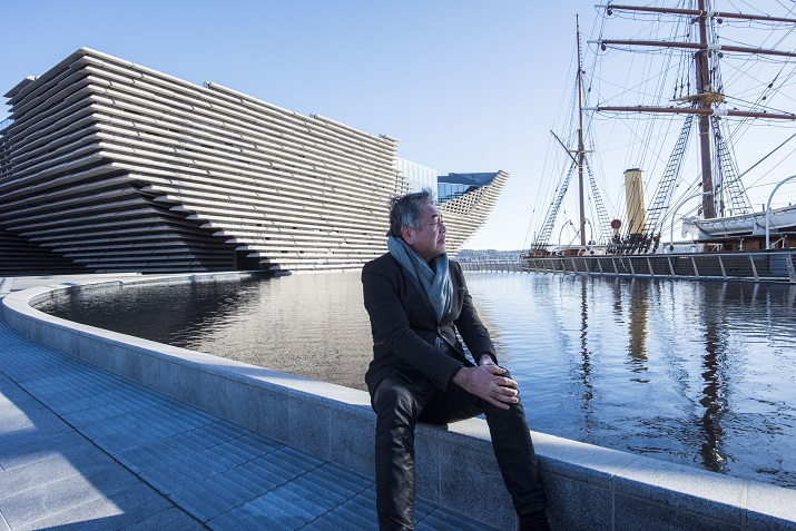 Kuma visits the V&A Dundee