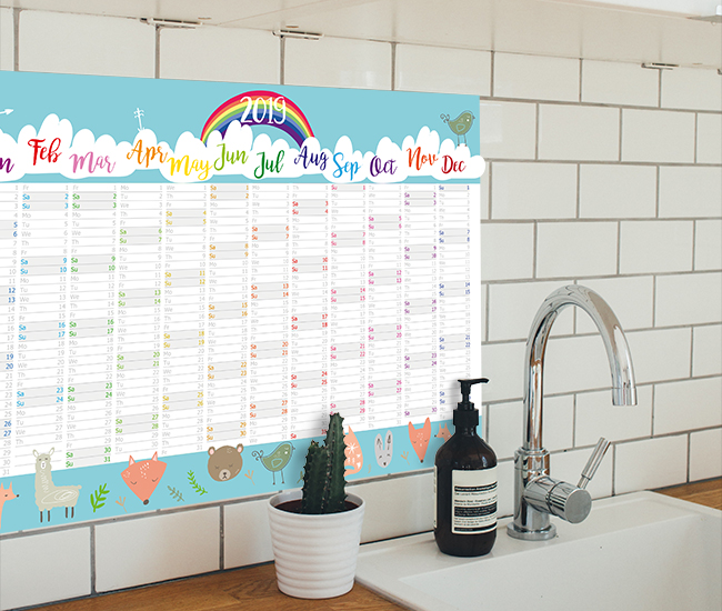 Family wall planner