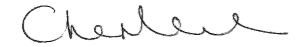 Charlene Douglas Signature