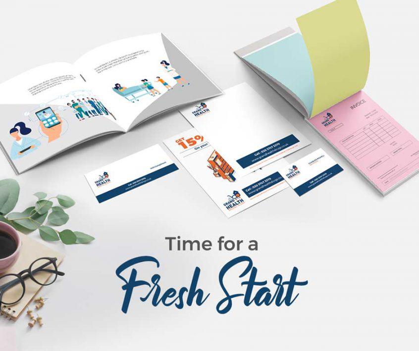 Time for a fresh start banner