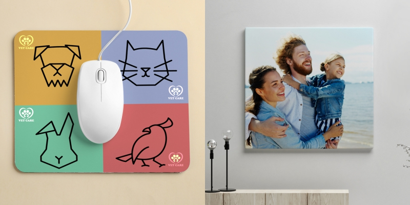 Mousemats and Canvas Prints