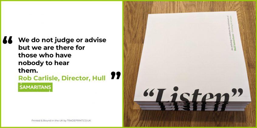 """Listen"" - a book by Hull Samaritans"
