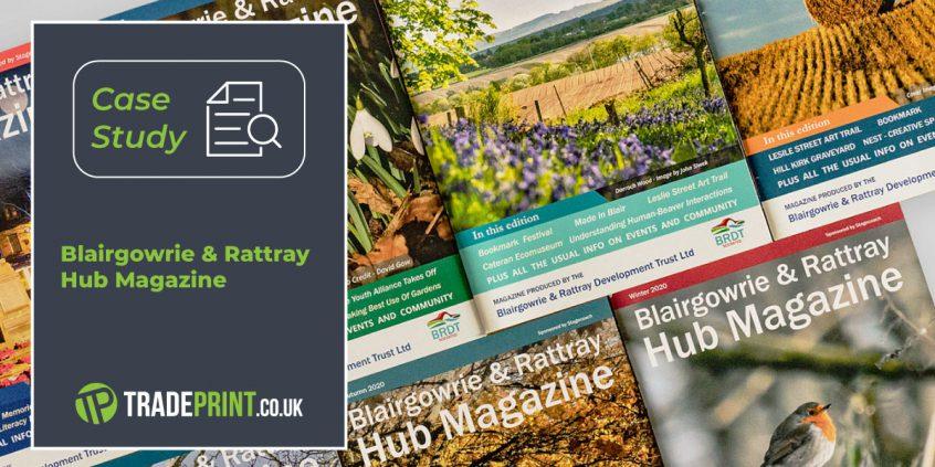 The Hub Magazine - 68 page saddle-stitched magazine.