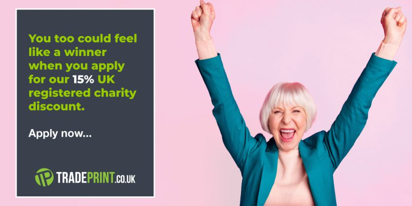 Charity Discounts From Tradeprint